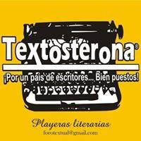 Textosterona  Playeras literarias