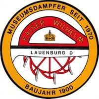 """Raddampfer """"Kaiser Wilhelm"""" -  Lauenburg/ Elbe"""