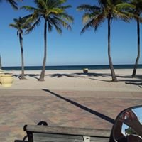 Hollywood Beach (Boardwalk), Florida, USA