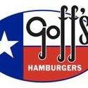Goff's Charcoal Hamburgers