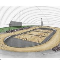 Build an indoor velodrome in CHCH