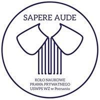 """Koło Naukowe Prawa Prywatnego """"Sapere Aude"""""""