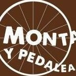 Monta y pedalea