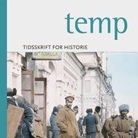 Temp - tidsskrift for historie