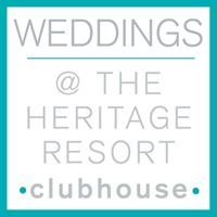 Weddings at The Heritage Resort Clubhouse
