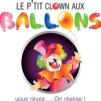 Le p'tit clown aux ballons