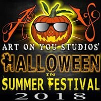 Art on You Studios Halloween in Summer Festival