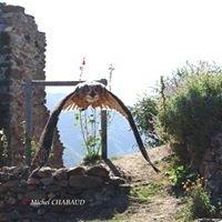 château des aigles de Lordat