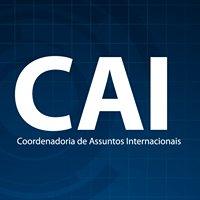 CAI Coordenadoria de Assuntos Internacionais