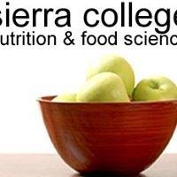 Sierra College Nutrition & Food Science Department
