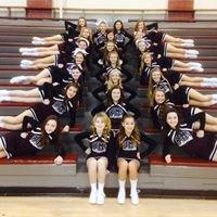 Bourbon County Middle School Cheerleaders