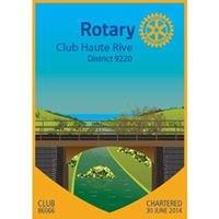 Rotary Club Haute Rive