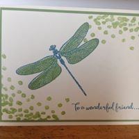 Stamp with Me!   Claudine Dionne, Stampin' Up! Demonstrator