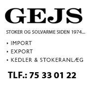 GEJS - Stoker & Solvarme