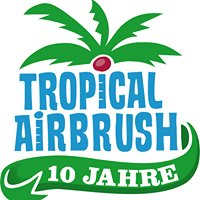 Tropical Airbrush Tattoo