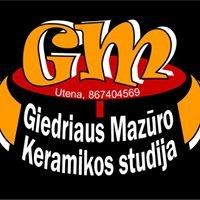 Giedriaus Mazūro keramikos studija