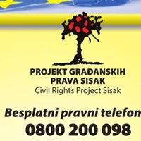 Projekt građanskih prava Sisak