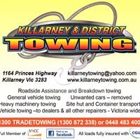 Killarney and District Towing