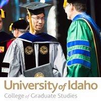 University of Idaho - College of Graduate Studies