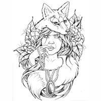 Electric Fox Tattoos