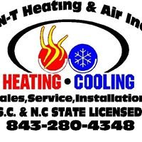TNT Heating and Air Inc.