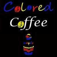 Colored coffee