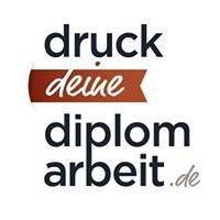 Druck deine Diplomarbeit!