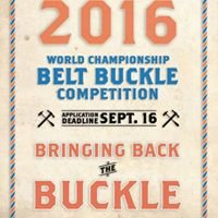 World Championship Belt Buckle Competition