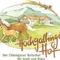 Hochgallinger Hof, Urlaub auf dem Bauernhof, Pferde- und Reiterferien