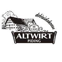 Gasthaus Altwirt Piding