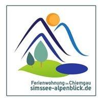 Simssee-Alpenblick, Chiemgau-Simssee  und Hüttenurlaub in der Simsseeranch