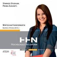 Studiengang Wirtschaftsinformatik an der Hochschule Heilbronn