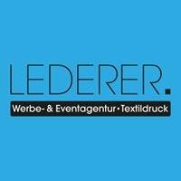 Textildruck LEDERER.