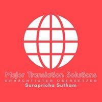 Deutsch - Thailändisches Übersetzungsbüro Surapricha Sutham in Bangkok