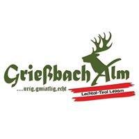 Grießbach Alm - Die schönste Alm im Tiroler Lechtal