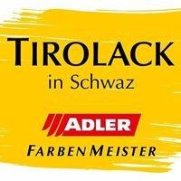 Tirolack ADLER Farben Lacke Holzschutz Künstlerbedarf