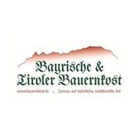 Bayrische und Tiroler Bauernkost