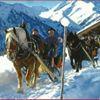 Apriacher Pferdeschlittenfahrt