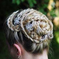 Flechtfrisuren Haarflechterei
