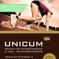 Unicum. Physiotherapie Trainingstherapie Logopädie