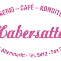 Bäckerei, Konditorei und Cafe Habersatter