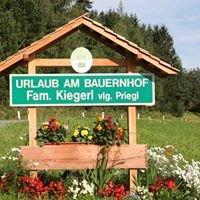 Bauernhof Priegl Familie Kiegerl