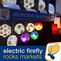 Electric Firefly Design & Creation - Rocks Markets