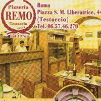 """""""pizzeria Remo"""" a testaccio"""