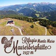 Maurerberghütte - Rifugio Monte Muro