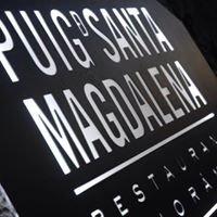 Puig D Santa Magdalena. Restaurant Panoràmic