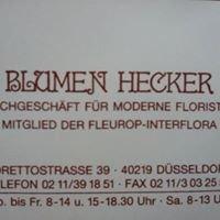 Blumen Hecker