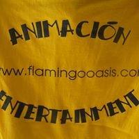 Entertainment Flamingo oasis
