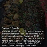 Bodega El Zacatín