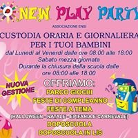 Ludoteca new play party
